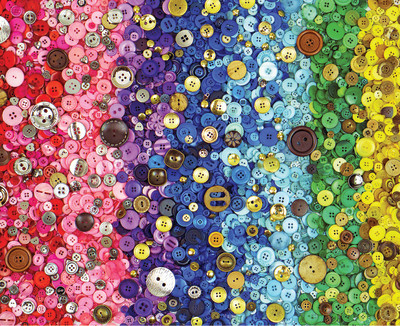 New! Bunches of Buttons 1000 Piece Jigsaw Puzzle