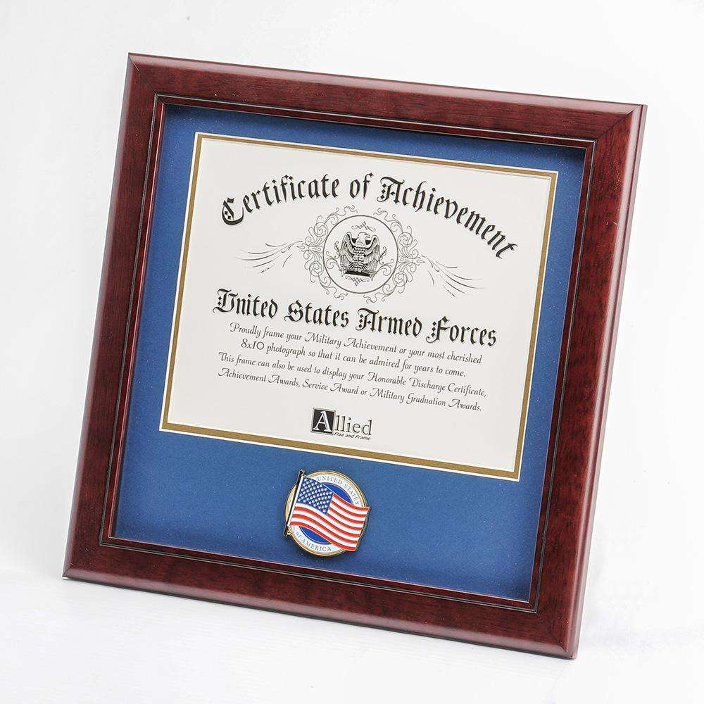 Patriotic American Flag Picture Frames & Display Cases