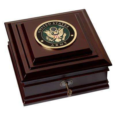 U.S. Army Medallion Desktop Box