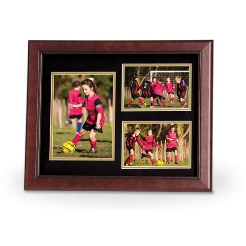 Decorative 11-Inch by 14-Inch Collage 3-Picture Frame