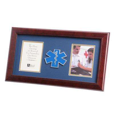 EMS Medallion 4-Inch by 6-Inch Double Picture Frame