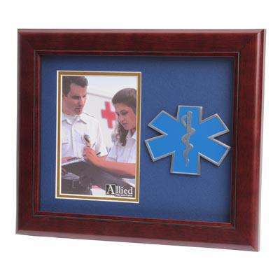 EMS Medallion 4-Inch by 6-Inch Portrait Picture Frame
