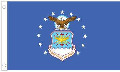 U.S. Air Force Flag - 3 x 5 - Polyester