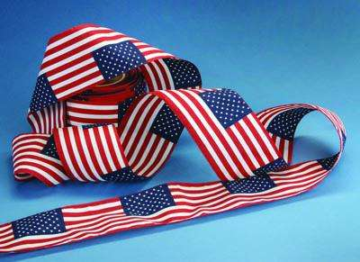 Flag Pattern Bunting - 12 x 18 Repeating