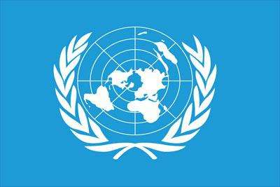 United Nations World Flag