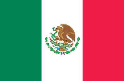 Mexico World Flag