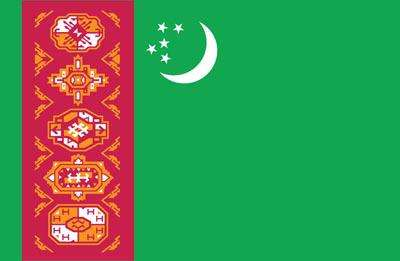 Turkmenistan World Flag