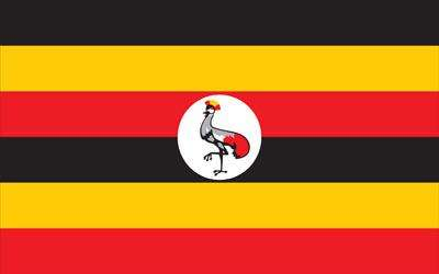 Uganda World Flag