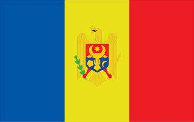 Moldova World Flag