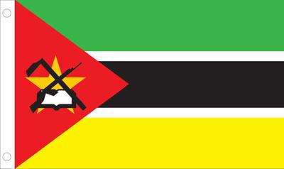 Mozambique World Flag