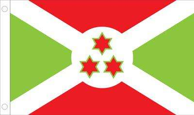 Burundi World Flag