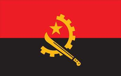 Angola World Flag