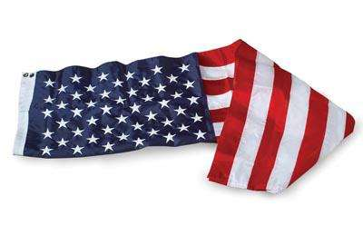 U.S. Flag - 18 x 22 Embroidered Nylon