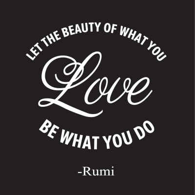 "Rumi ""Love"" Inspirational Magnet"