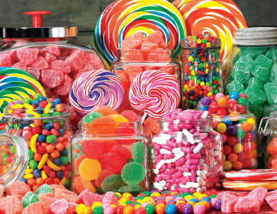Candy Galore 1000 Piece Jigsaw Puzzle