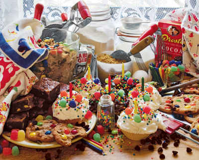 Treats And Sweets 1000 Piece Jigsaw Puzzle
