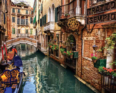 Sempione, Italy 1000 Piece Jigsaw Puzzle