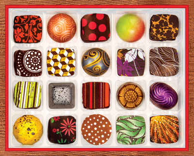 Chocolate Artistry 1000 Piece Jigsaw Puzzle