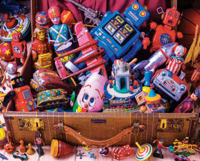 Toy Trunk 1000 Piece Jigsaw Puzzle