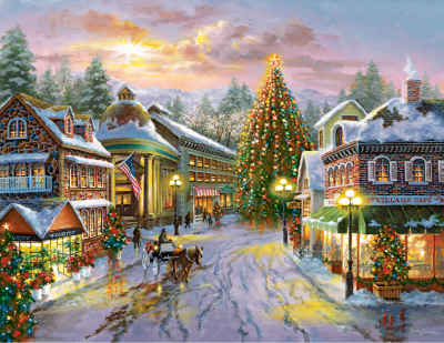 Christmas Eve 500 Piece Jigsaw Puzzle