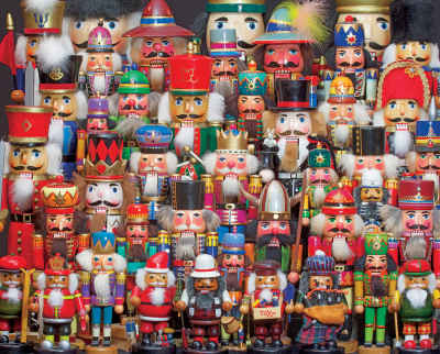 Nutcracker Collection 1000 Piece Jigsaw Puzzle