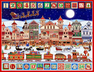 And To All A Good Night 400 Piece Jigsaw Puzzle