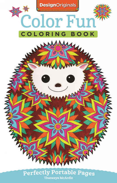 Color Fun On The Go Adult Coloring Book