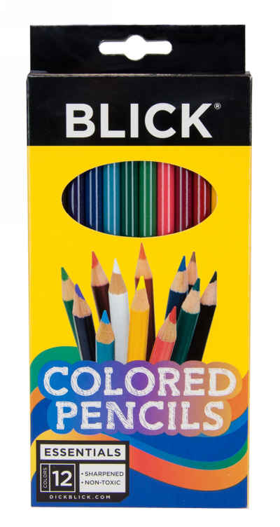 Blick Premium Colored Pencils - 12 Pencil Set