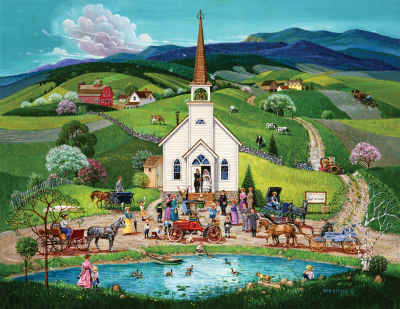 Spring Wedding 100 Piece Jigsaw Puzzle