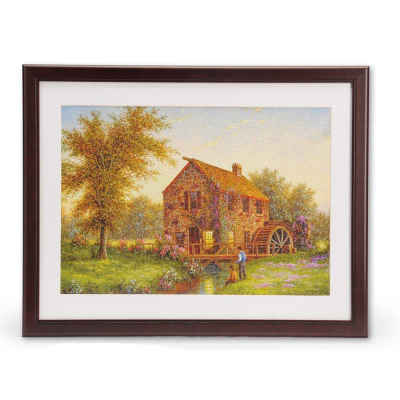 "350 or 500 Piece Jigsaw Puzzle Frame Wooden Frame for Puzzles 18"" x 23.5"""