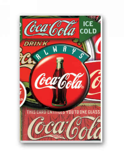 Coca-Cola Classics Bridge Tally Sheets Playing Cards Accessory
