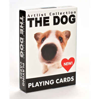 The Dog Playing Cards Standard Index Playing Cards
