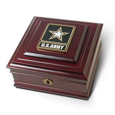 Go Army Medallion Desktop Box