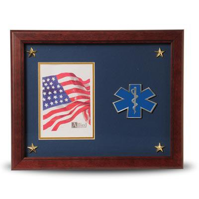 EMS Medallion 5-Inch by 7-Inch Picture Frame with Stars