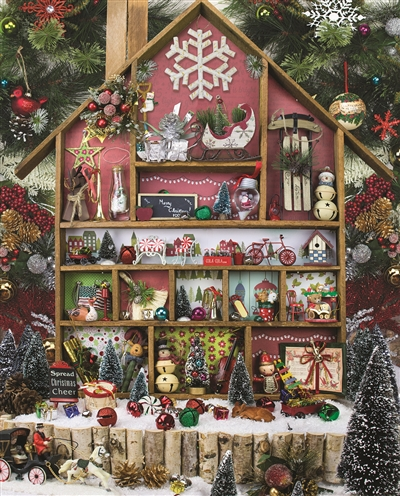 Christmas Country Home 1000 Piece Puzzle