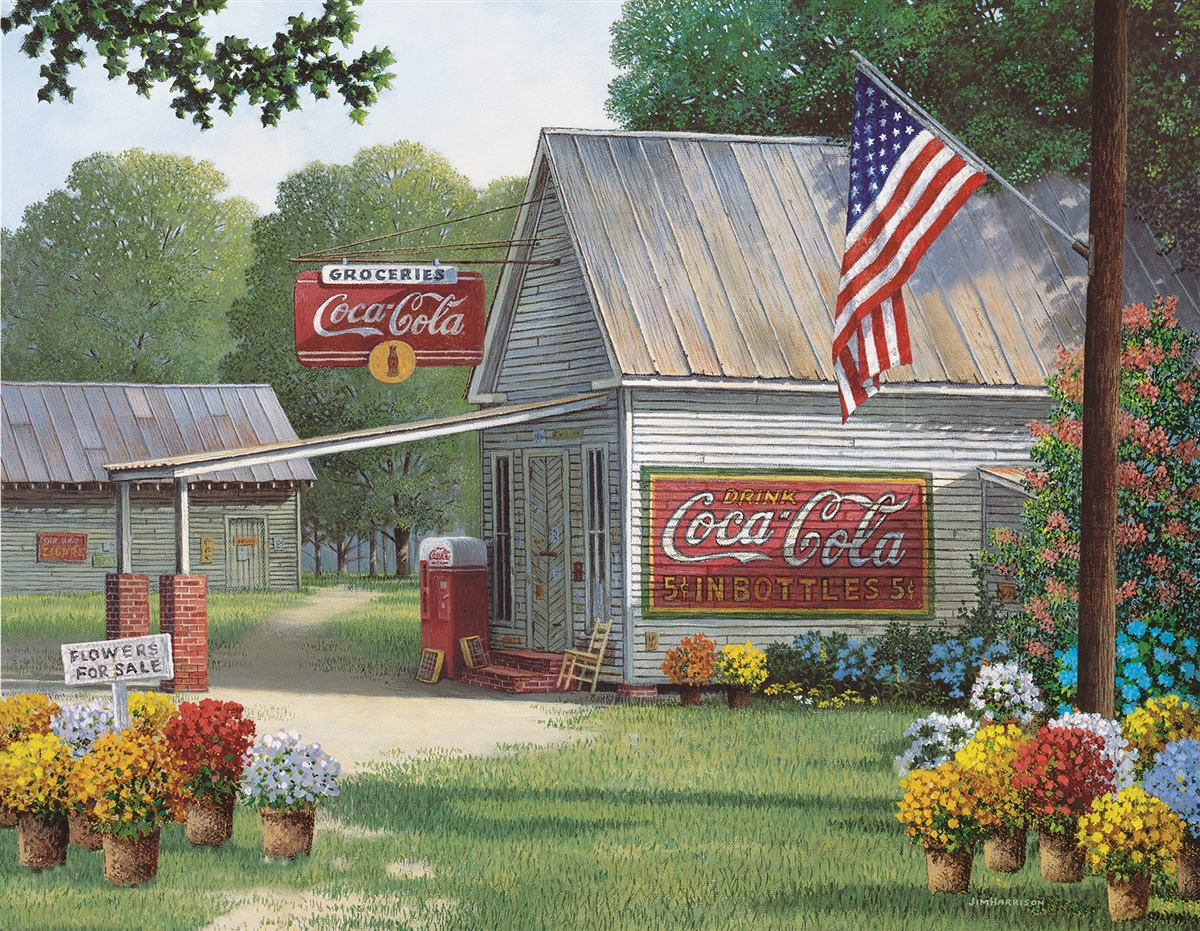 Coca Cola Country General Store 500 Piece Jigsaw Puzzle