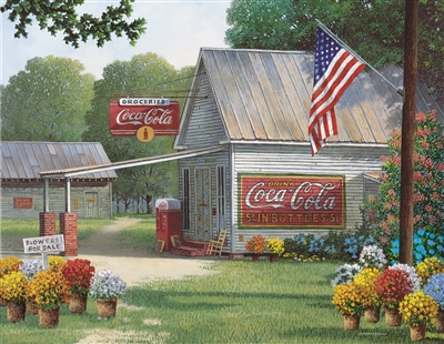 Coca-Cola Country General Store 500 Piece Jigsaw Puzzle