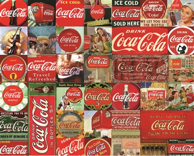 Coca-Cola It's The Real Thing 1000 Piece Jigsaw Puzzle