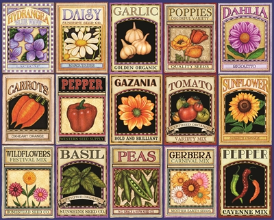 Garden Goodness 1000 Piece Jigsaw Puzzle