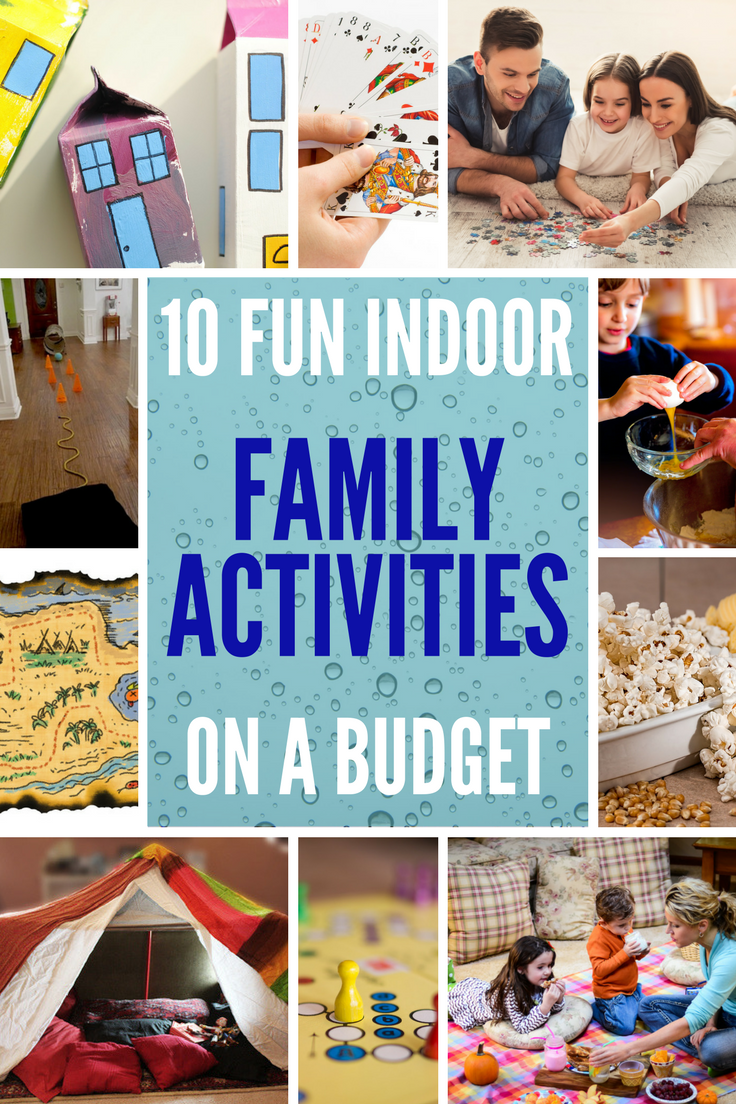 10 Fun Indoor Family Activities on a Budget