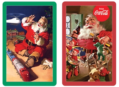 Santa's Workshop Bridge Playing Cards Jumbo Print Index Playing Cards