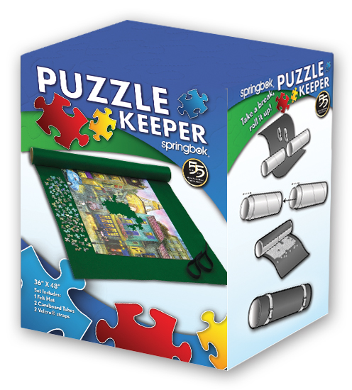 Jigsaw Puzzle Keeper Jumbo Print - 2000 Piece Puzzles and Smaller Jigsaw Puzzle Accessory