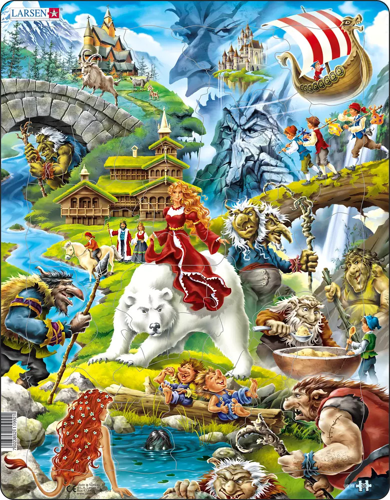 Fairytales 30 Piece Children's Jigsaw Puzzle
