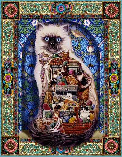Cats Galore 500 Piece Jigsaw Puzzle From Springbok Puzzles
