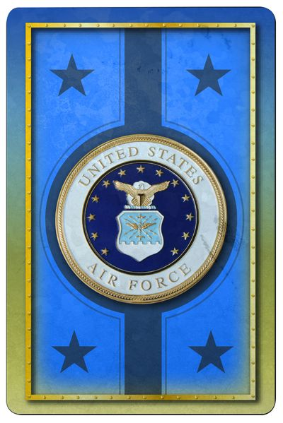 Air Force Jumbo Print Index Playing Card Set