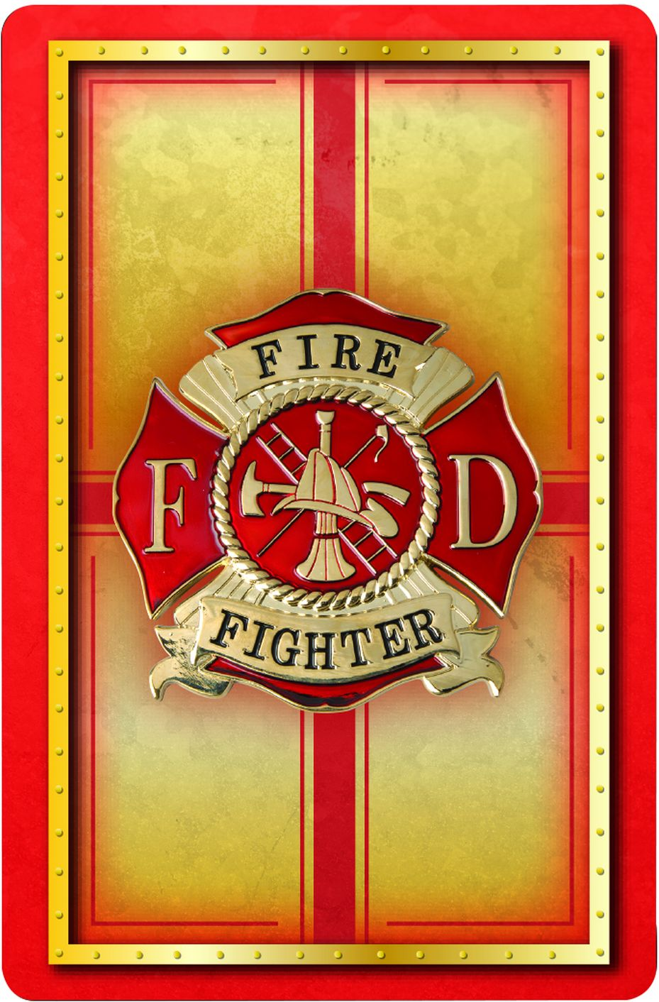 Firefighter Playing Cards | Heroes Series