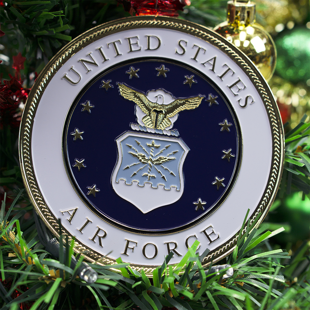 Air Force Christmas Ornament | Heroes Series
