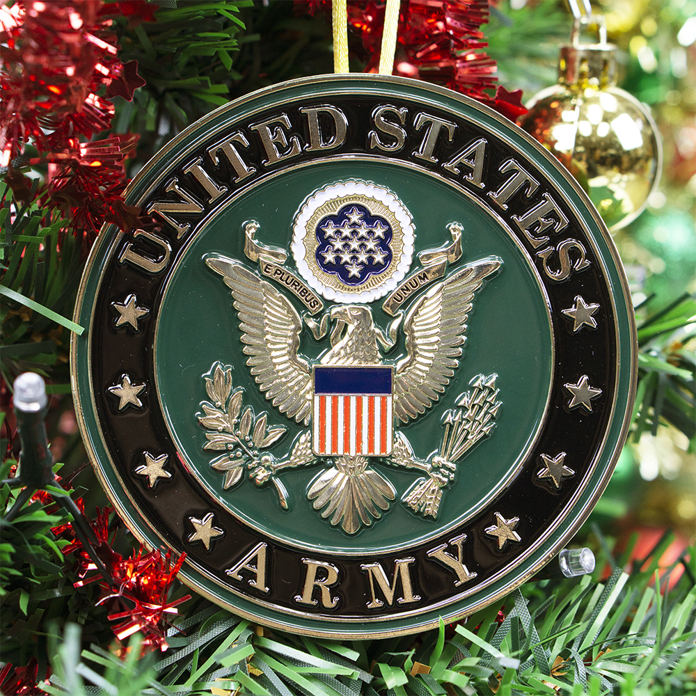 Army Christmas Ornament | Heroes Series