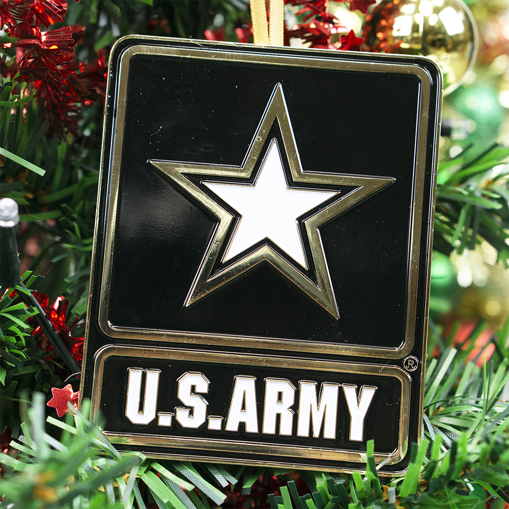 Go Army Christmas Ornament | Heroes Series