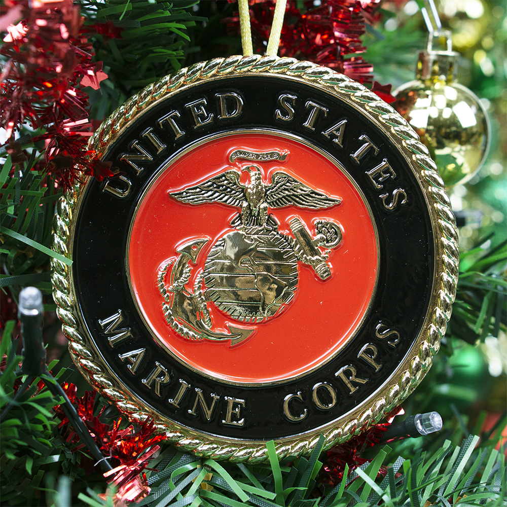 Marine Corps Christmas Ornament | Heroes Series